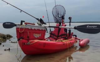 Оснащение лодки пвх для рыбалки