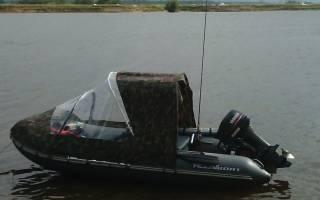 Самодельный тент на лодку пвх своими руками
