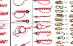 Способы вязания крючков для рыбалки