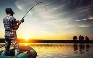 Ловля на поплавок с лодки