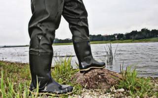 Легкие сапоги для рыбалки