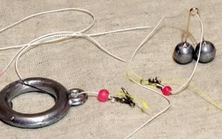 Лов рыбы на кольцо