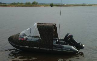 Как сшить тент на лодку своими руками