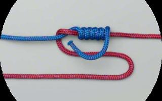 Рыболовные узлы для плетенки