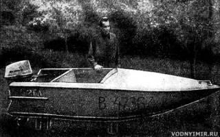 Мини лодки для рыбалки