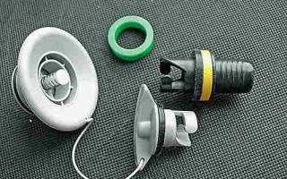 Как поменять клапан на лодке пвх
