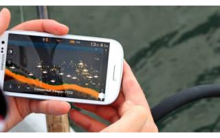 Как работает эхолот для рыбалки видео