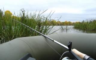 Удочка для ловли с лодки