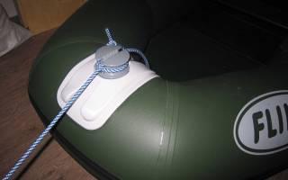 Как правильно привязать якорь для лодки пвх