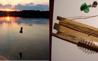 Как собрать резинку для рыбалки