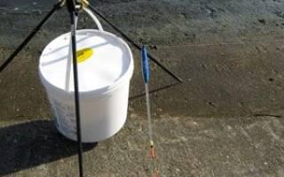 Монтаж поплавочной удочки со скользящим поплавком