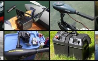Выбор электромотора для лодки пвх
