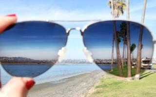 Солнцезащитные очки как проверить
