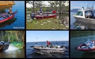Морские катера для рыбалки