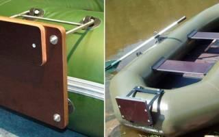 Навесной транец для надувной лодки