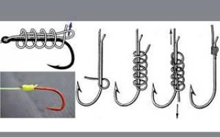 Способы вязания рыболовных крючков
