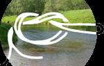 Привязать отводной поводок к основной леске