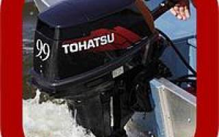 Установка двигателя на лодку