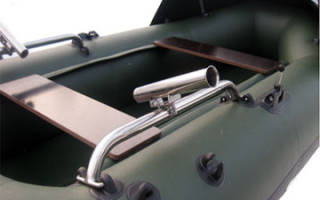 Самодельные держатели для спиннинга на лодку пвх