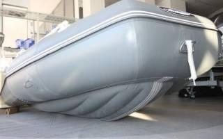 Лодки с надувным дном высокого давления