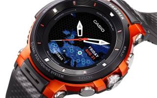 Часы casio для рыбалки